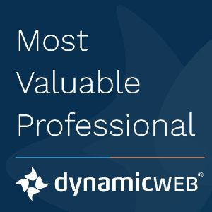 Dynamicweb MVP Badge