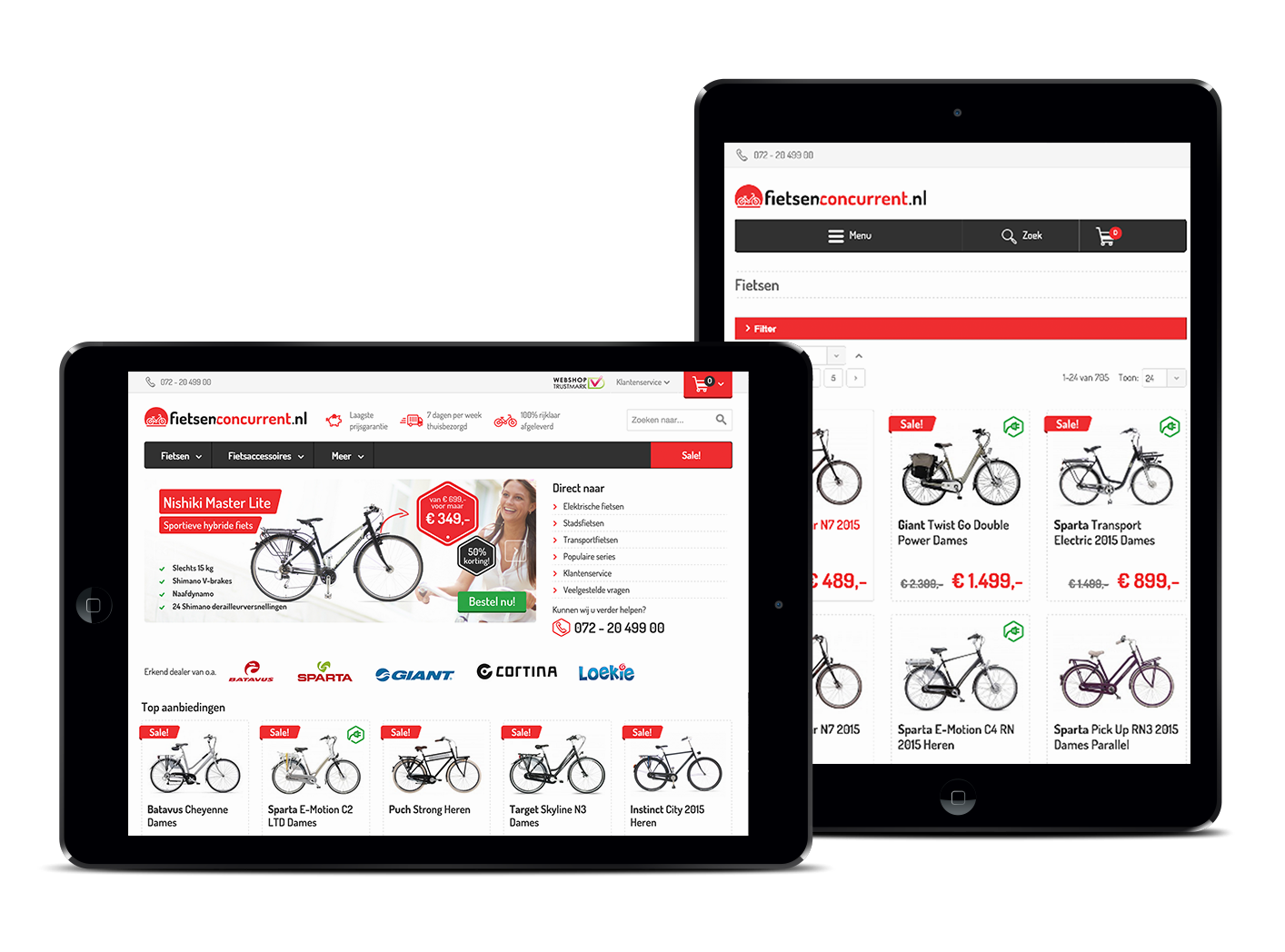 Fietsenconcurrent e-commerce